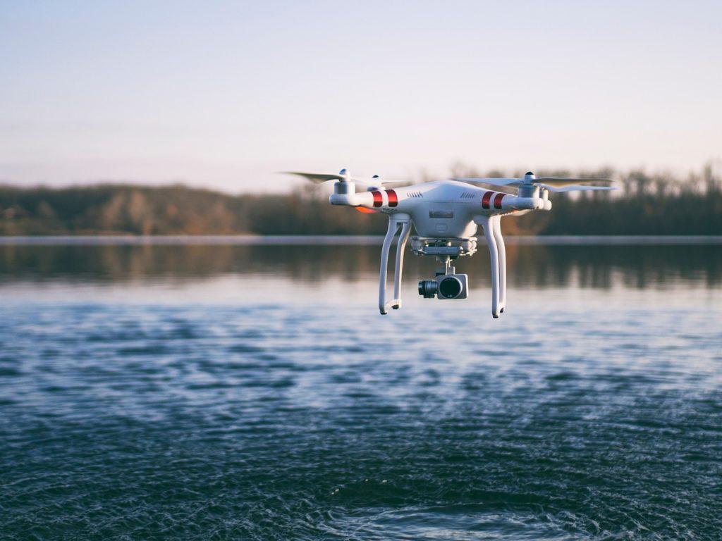 Angeln mit Drohne!